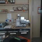retro banco gastronomia con zona affetta salumi